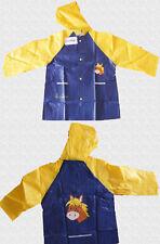 ★ PLAYSHOES ★ 128  ~ Jacke Regenjacke Regenmantel ~ PFERD ~ blau gelb