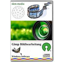 Bildbearbeitung, Grafik Bearbeitung, GIMP Foto Software-JPG, PNG uvm. CD Versand