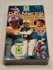 DAN MARINO Miami DOLPHINS Publix HEART of a CHAMPION VHS - NEW Sealed