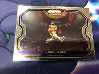 2020-21 Lebron James Panini Prizm Base #1 Kobe Tribute Dunk!!! Invest Nice Card