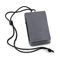Mobile Smart Phone Case Money Belt Neck Strap Zip Card Holder Pouch Wallet