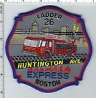 Boston Fire Department (Massachusetts) Ladder 26 Shoulder Patch version 2