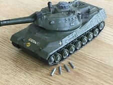 Dinky Leopard Tank with Moving Turret, Raising Gun Barrel and Missiles