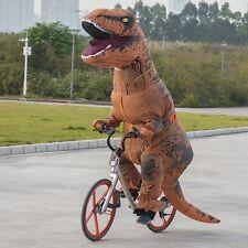 Adulto T-Rex Dinosaurio Inflable Mono volar Jurasic Traje de Disfraz Stag
