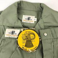 Vintage Black Sheep Hunting Field Jacket Camp Pants Sz Small Green Cotton Canvas