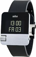 BRAND NEW BRAUN MENS PRESTIGE WATCH WITH DIGITAL DISPLAY