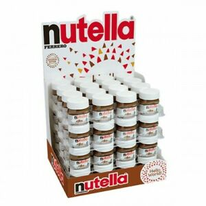 NUTELLA MINI JARS 25G Fresh Stock