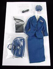 Vintage COMPLETE Mattel 1961-64 Barbie AMERICAN AIRLINE STEWARDESS #984 Outfit