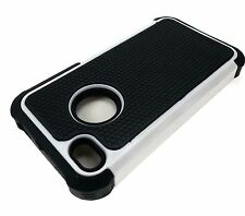 For iPhone 4S 4 Protective Shockproof Armor Hybrid Case Hard Silicone Cover
