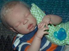 Custom reborn baby boy!Full bodied, anatomically correct, no cloth! Soft squishy