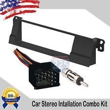 Car Stereo Radio Dash Install Kit Harness & Antenna 1997-2001 BMW 3 Series & M3