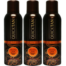 Body Drench Quick Tan Sunless Tanning Mist Medium Dark 6oz ( 3 pack)