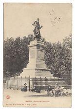 macon  statue de lamartine