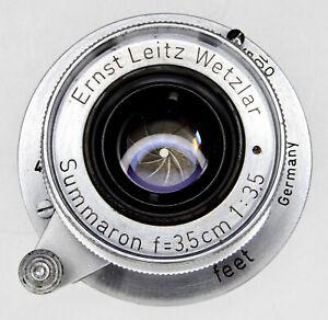 Leica SM 3.5cm f3.5 Summaron  #765554