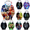 Anime Dragon Ball Z Hooded Pullover 3D Print Son Goku Hoodie Sweatshirt Cosplay
