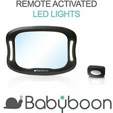 Baby Car Mirror LED Light - View Child in Rear Facing Car Seat with Superior Vie