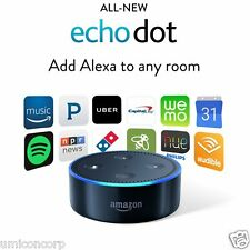 Amazon Echo Dot 2nd Generation w/ Alexa Brand New Sealed BLACK
