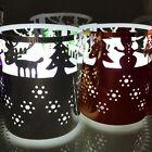 6× Tea Light Candles Holders Candle Lanterns Xmas Wedding Party Christmas Decor