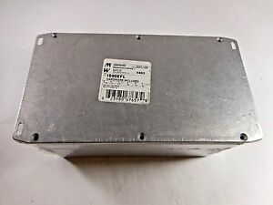 Hammond Manufacturing Die Cast Enclosure With Flanged Lid 1590EFL