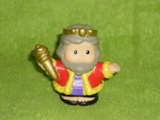 Fisher Price Little People Lil Kingdom Castle King Prince Grandpa