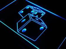 "16""x12"" i897-b Dice Game Gamble Bar Beer Neon Sign"