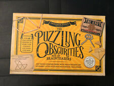Professor Puzzle Presents The Puzzling Obscurities Box Of Brain Teasers Unused
