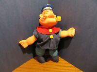 Vintage 1979 Uneeda Popeye 8'' Figure Plush and plastic