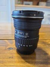 Tokina AT-X PRO 11-16mm f/2.8 Pro DX Digital Lens