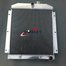 3 row For 1947-1954 Chevy Pickup Truck Includes Tranny Cooler Aluminum Radiator