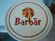 Plateau publicitaire en métal dur pour la bièr belge Bârbar