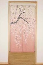 Vorhang,Hergestellt in Japan,Japanischer Vorhang,Kirschblüten,ShidarezakuraNoren
