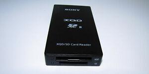 SONY XQD SD card reader MRW-E90 BC2 SYM USB 3.1