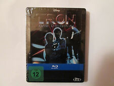 Tron (Blu-ray Disc,STEELBOOK 2011, 2-Disc Set,) Region Free Import OOP Disney