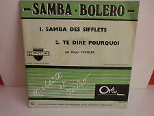ROGER VEMEER Samba des sifflets ORLY PROMO DN 567 ACCORDEON MUSETTE