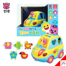 Pinkfong Baby Shark Family Melody Car Play Toy - Sound ,Children Song,Brick Play
