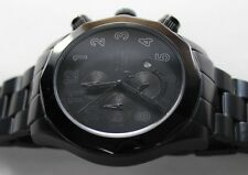 Android Men's Watch, AD413, Black Chrono Dial on Black IP Case and Bracelet