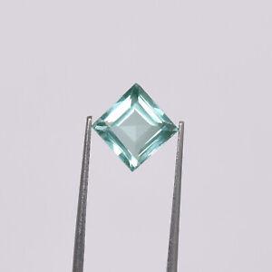 3.60 Ct Natural Green Tourmaline Copper Bearing Paraiba Loose Certified Gemstone