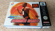 INTERNATIONAL TRACK & FIELD SUMMER GAMES NINTENDO 64 N64 / new in blister packs