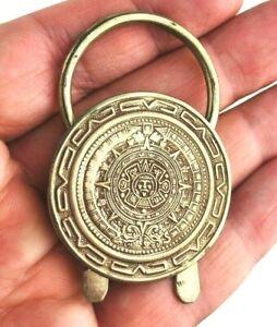 Cowboy Western Neckerchief Slide Bolo Tie Scarf Southwestern Mexico Aztec  *Kc19