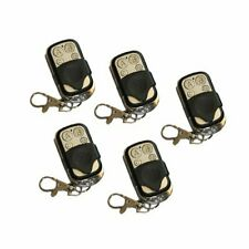 5X 433.92Mhz Wireless Electric Gate Garage Door Fob Key Remote Control Cloning