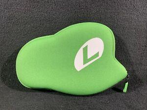 Club Nintendo Original Luigi Hat 3DS / DS Case Bag Pouch *READ*