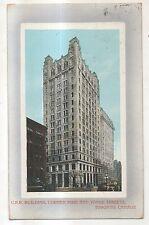 CPR Building, King Vonge Street TORONTO ON Ontario Vintage Postcard