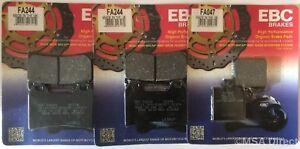 Ducati Monster 620 (1st Serie) (02 A 05) EBC Biologico Ant. E Post. Freno Pads