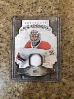 2019-20 UD Artifacts NHL Remnants Carey Price Relic AND Dual Relic /125. 2 CARDS