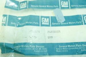 GM OEM Quarter Panel-Baffle Retainer 8732474