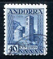 SPANISCH ANDORRA 1935 37A gestempelt SPITZENWERT 1200€(Z3314