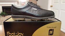 2012 Footjoy Dryjoys Mens Golf Shoes 53614 NEW Blk 11.5M $199 RET Beautiful