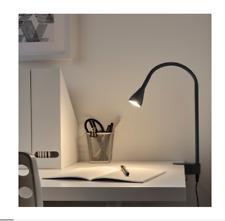 IKEA NAVLINGE LED DESK LIGHT CLIP/CLAMP ON LAMP FLEXIBLE READING SPOTLIGHT NEW