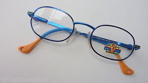 Disney Mickey Kids Children Glasses Boys Girls Blue Oval Sturdy Cheap Size K