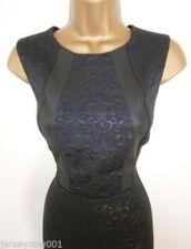 NEW £45 ***SALE*** JANE NORMAN SIZE 14, BLACK JACQUARD PARTY DRESS
